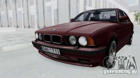 BMW 525i E34 1994 LT Plate для GTA San Andreas