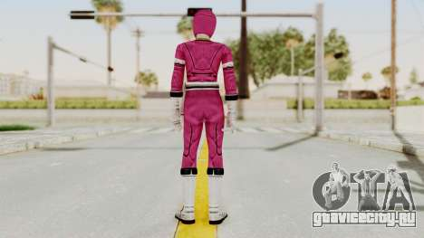 Power Rangers Turbo - Pink для GTA San Andreas третий скриншот
