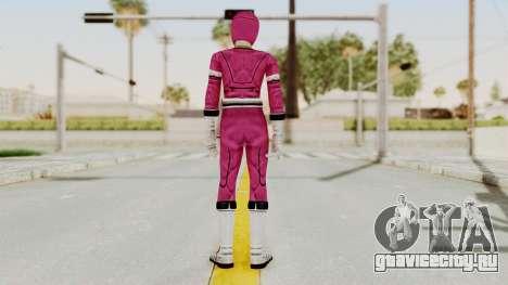 Power Rangers Turbo - Pink для GTA San Andreas третий скриншот