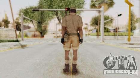 MGSV Phantom Pain CFA Soldier v1 для GTA San Andreas третий скриншот