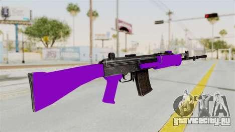 IOFB INSAS Violet для GTA San Andreas второй скриншот