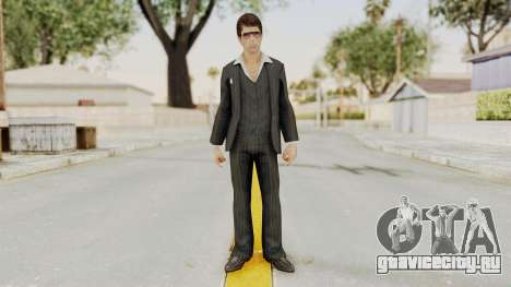 Scarface Tony Montana Suit v2 with Glasses для GTA San Andreas второй скриншот