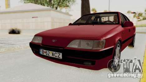 Daewoo Espero 1.5 GLX 1996 v2 Final для GTA San Andreas вид сзади слева