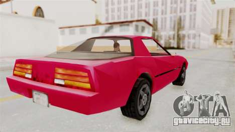 Cammero для GTA San Andreas вид слева
