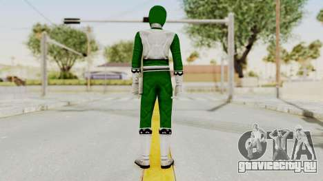 Power Rangers Lost Galaxy - Green для GTA San Andreas третий скриншот