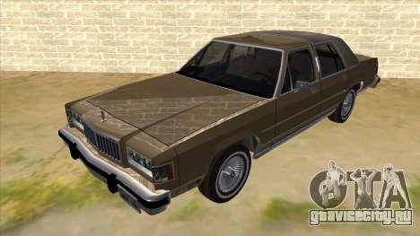 Mercury Grand Marquis 1986 v1.0 для GTA San Andreas