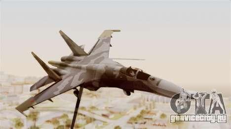 SU-27 Hydra для GTA San Andreas вид сзади слева