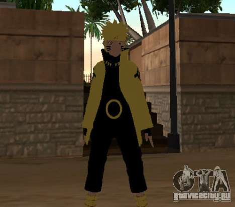 Naruto Ashura для GTA San Andreas третий скриншот