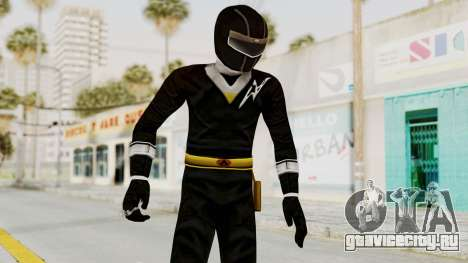 Alien Rangers - Black для GTA San Andreas