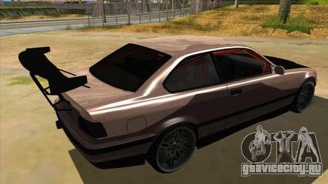 BMW M3 Drift Missile для GTA San Andreas вид справа