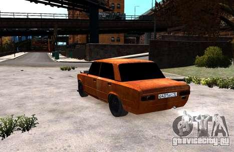 ВАЗ 2101 Бродяга для GTA 4 вид слева