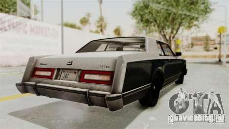 GTA 5 Dundreary Virgo IVF для GTA San Andreas вид слева