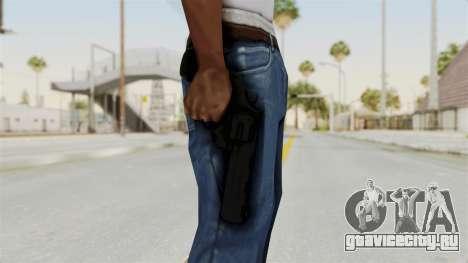 Colt .357 Black для GTA San Andreas третий скриншот