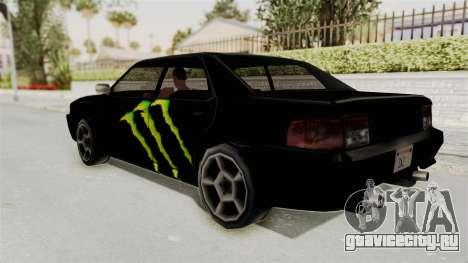 Monster Sultan для GTA San Andreas вид слева