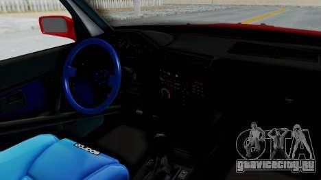 BMW M3 E30 Rocket Bunny Drift Style для GTA San Andreas вид изнутри