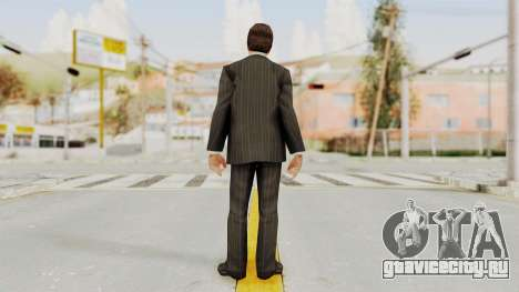 Scarface Tony Montana Suit v2 with Glasses для GTA San Andreas третий скриншот