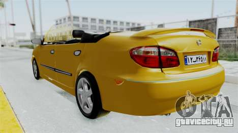 Nissan Maxima Spyder для GTA San Andreas вид справа