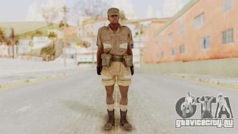 MGSV Phantom Pain CFA Soldier v1 для GTA San Andreas второй скриншот