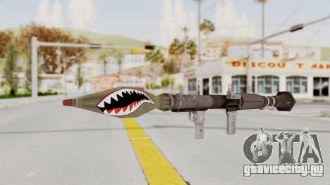 GTA 5 Rocket Launcher Shark mouth для GTA San Andreas второй скриншот