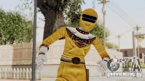 Power Ranger Zeo - Yellow для GTA San Andreas