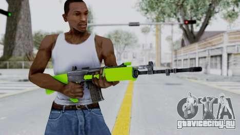 IOFB INSAS Light Green для GTA San Andreas третий скриншот