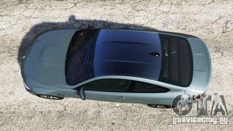 BMW M4 GTS для GTA 5 вид сзади