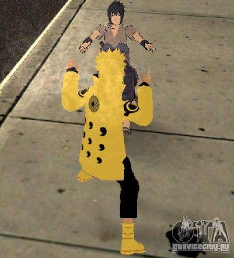 Naruto Ashura для GTA San Andreas четвёртый скриншот