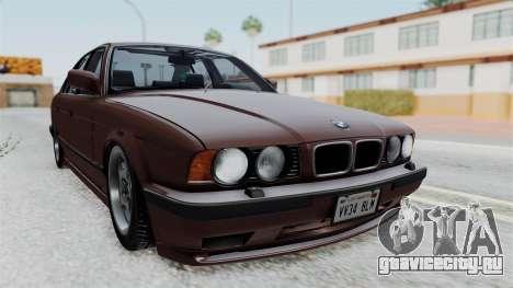 BMW 525i E34 1994 SA Plate для GTA San Andreas
