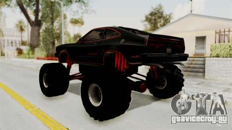 Ford Mustang King Cobra 1978 Monster Truck для GTA San Andreas вид слева