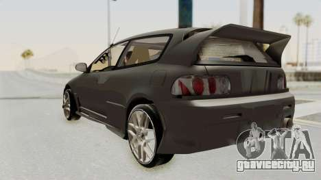 Honda Civic Hatchback 1994 Tuning для GTA San Andreas вид слева