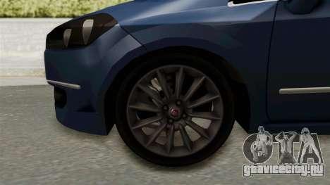 Fiat Linea 2011 для GTA San Andreas вид сзади