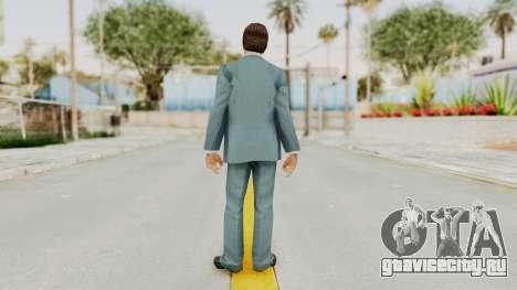 Scarface Tony Montana Suit v3 with Glasses для GTA San Andreas третий скриншот