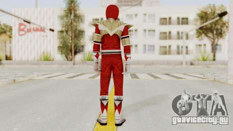 Mighty Morphin Power Rangers - Red Armor для GTA San Andreas третий скриншот