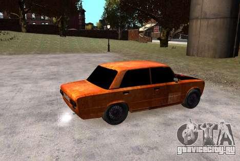 ВАЗ 2101 Бродяга для GTA 4 вид сзади