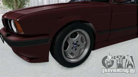 BMW 525i E34 1994 LT Plate для GTA San Andreas вид сзади