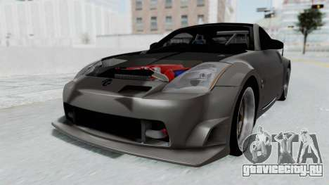 Nissan 350Z V6 Power для GTA San Andreas вид справа