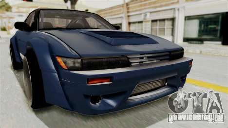 Nissan Silvia Sil80 для GTA San Andreas вид сверху