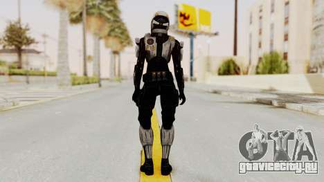 Mass Effect 3 Ajax Female Armor для GTA San Andreas третий скриншот