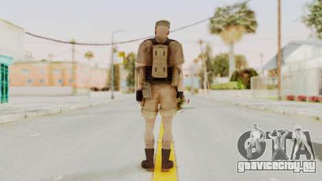 MGSV Phantom Pain CFA Combat Vest 2 v2 для GTA San Andreas третий скриншот