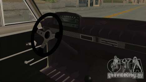 Seat 1430 FU для GTA San Andreas вид изнутри