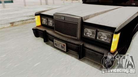 GTA 5 Dundreary Virgo IVF для GTA San Andreas вид изнутри