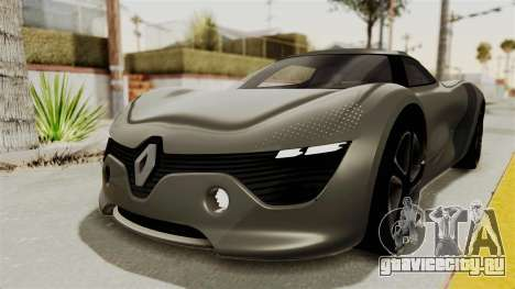 Renault Dezir Concept для GTA San Andreas