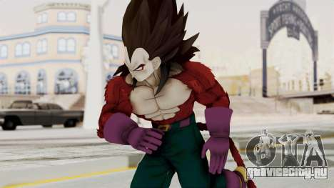 Dragon Ball Xenoverse Vegeta SSj4 для GTA San Andreas