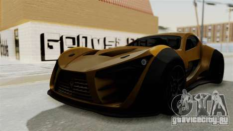 Felino CB7 для GTA San Andreas вид справа