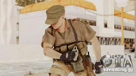 MGSV Phantom Pain CFA Combat Vest 1 v2 для GTA San Andreas