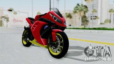 Kawasaki Ninja 250FI Anak Jalanan для GTA San Andreas