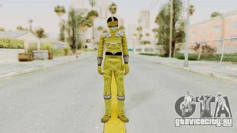 Power Rangers Time Force - Yellow для GTA San Andreas второй скриншот