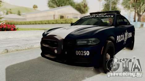 Dodge Charger RT 2016 Federal Police для GTA San Andreas