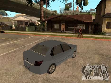 Datsun on-DO для GTA San Andreas вид сзади