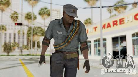 MGSV Phantom Pain Zero Risk Security LMG v1 для GTA San Andreas